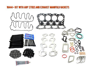 10444 DURAMAX HEAD GASKET KIT LML 2011-2016 WITH ARP STUDS WITH EXHAUST MANIFOLD GASKETSMedium