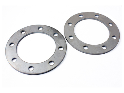 "10450 1/4"" Wheel Spacers, 8 on 6-1/2, Mild Steel-Pair - 2001-2010 DuramaxMedium"