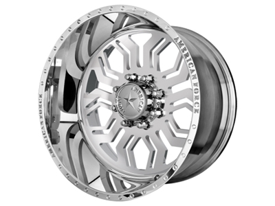 AFPHSSW AMERICAN FORCE POLISHED HAWK SS WHEEL *CALL TO ORDER*Medium