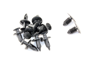 10008 Wheel Well Liner Kit, 10 Clips and 2 Panel Fasteners , 2001-2007 DuramaxSmall