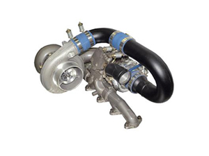 BD1045426 BD-POWER 1045426 R700 TWIN TURBO UPGRADE KIT WITHOUT SECONDARY - 1998.5-2002 Dodge 5.9L Cummins w/ Super B Single (Auto Trans.)Small
