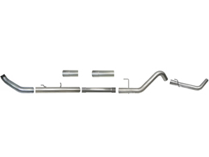 "1673 1673 5"" Aluminized Turbo Back Exhaust Fits 13-17 Dodge 6.7L CumminsSmall"