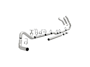 "MAG17878 MAGNAFLOW 17878 4"" TURBO-BACK STAINLESS STEEL CUSTOM BUILDER PIPE KIT 1999-2007 FORD 7.3L/6.0L POWERSTROKE (ALL CREW & EXT. CABS)Small"