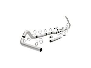 "MAG17879 MAGNAFLOW 17879 5"" TURBO-BACK STAINLESS STEEL CUSTOM BUILDER PIPE KIT 1999-2007 FORD 7.3L/6.0L POWERSTROKE (ALL CREW & EXT. CABS)Small"