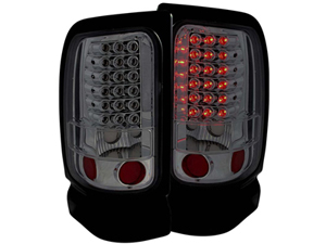 AZ311168 ANZO SMOKED LED TAILLIGHTS 311168 1994-2002 DODGE RAMSmall