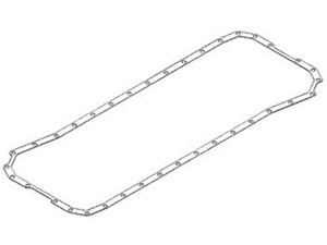 3958165 GASKET, OIL PAN - CUMMINS ('03-'12, 5.9L & 6.7L)Small