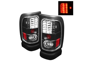 SA5002693 SPYDER 5002693 BLACK LED TAIL LIGHTS 1994-2002 DODGE RAM 2500/3500Small