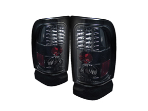 SA5002723 SPYDER 5002723 SMOKED LED TAIL LIGHTS 1994-2002 DODGE RAM 2500/3500Small