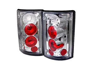 SA5002921 SPYDER 5002921 CHROME EURO STYLE TAIL LIGHTS 2000-2006 FORD EXCURSION | 1995-2006 FORD ECONOLINE VANSmall
