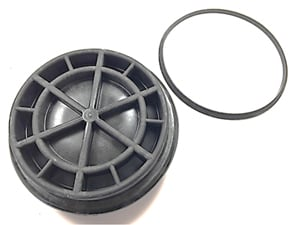 F81Z-9G270-BA OEM Ford 7.3L Fuel Filter Cap With O-Ring 1999-2003Small