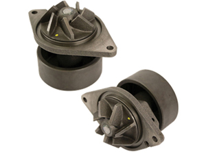"75-4404 MAGNUM 5.9/6.7 CUMMINS DODGE / RAM WATER PUMP WITH 7-VANE IMPELLER/4"" HUBSmall"