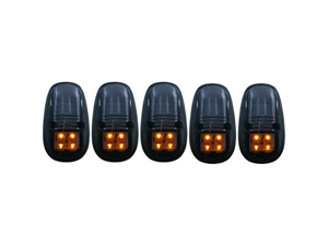 AZ861098 ANZO 861098 SMOKED LED CAB LIGHTS 1999-2002 DODGE RAM (WITH FACTORY CAB LIGHTS)Small
