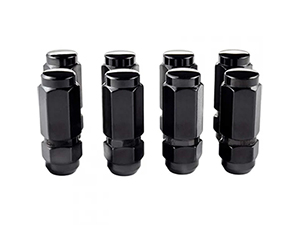 MCGARD 64816 BLACK HEX LUG NUTS (8-PACK) Thumbnail