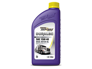 RP01154 ROYAL PURPLE 15W-40 SYNTHETIC MOTOR OIL 01154 FOR ALL DIESEL ENGINES - 1 QUART BOTTLESmall