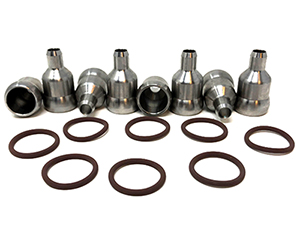 ZZ-11-132 ZZ DIESEL HIGH PRESSURE OIL RAIL REPAIR KIT FITS 04-07 FORD F-250 6.0L Small