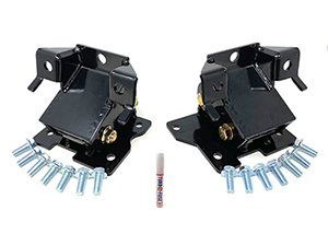 ZZ Diesel Performance Motor Mounts, 2001-2010 GM 6.6L Duramax Thumbnail
