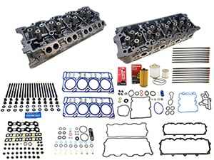 Remanufactured Cylinder Heads with Gasket Install Kit, 2006-2007 Ford Thumbnail