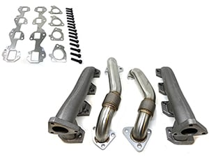 High Flow Exhaust Manifold with Up-Pipes, (NON-EGR) Duramax Thumbnail
