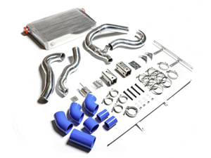 ZZ-11-234 ZZ Diesel Intercooler Kit and Boost Tubes Boots Clamps 94-97 Ford 7.3L Powerstroke DieselSmall